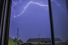 flasch (nnicolo) Tags: lightning thunder storm danger electricity fulmine elettricit temporale