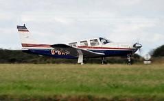 G-BKMT (goweravig) Tags: gbkmt piper saratoga resident aircraft swansea wales uk swanseaairport