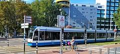 Beweegbaar Obstakel (Peter ( phonepics only) Eijkman) Tags: amsterdam city combino gvb tram transport trams tramtracks rail rails strassenbahn streetcars nederland netherlands nederlandse noordholland holland