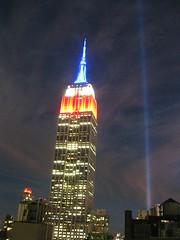 IMG_6792 (gundust™) Tags: nyc ny usa september 2016 newyork newyorkcity manhattan architecture esb empirestatebuilding skyscraper september11th 911 tributeinlight xeon twintowers memorial remembrance night