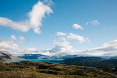 Svartisen glacier from Lhko National Park (dataichi) Tags: norway nordland nature landscape travel tourism destination outdoors mountains clouds svartisen glacier lake lahko