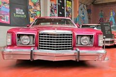1978 Ford Thunderbird (crusaderstgeorge) Tags: crusaderstgeorge americancars americanclassiccars cars classiccars motormuseumlondon london museum 1978fordthunderbird 1978 ford thunderbird redcars