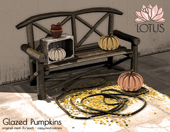 LOTUS. Glazed Pumpkins (LOTUS. & Ugly Duckling) Tags: halloween candy fair 2016 event pumpkin pumpkins fall autumn sweet eyes gacha gatcha rug wall rugs chocolate quotes decor home art watermelon zombie rare common play machine new lotus