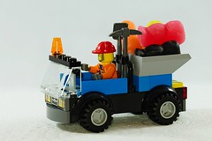 IMG_7964 (LezFoto) Tags: macro fun toy sweets candy minifigs minifigures canon eos 700d ef100mm f28l jellybabies lego truck