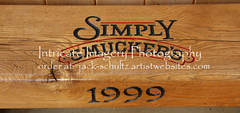 Smuckers in Orrville Ohio Bench 5850 (intricate_imagery-Jack F Schultz) Tags: jackschultzphotography intricateimageryphotography amishcountry ohioamish southeasternohio smuckers orrvilleohio jamsandjellies woodenbench