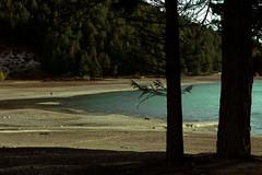 Lake Tekapo, Canterbury (Enhanced Interrogation) Tags: lake tekapo lonely man shadow serene peaceful new zealand