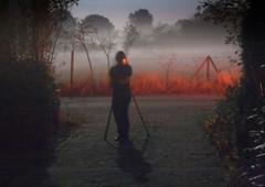 Under the Pale Moon (ursulamller900) Tags: orchardmeadow domiplan2850 night nacht experiment fog moonlight mondlicht nebel
