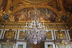 Versailles - Chandelier (big_jeff_leo) Tags: paris louis versailles palace architecture gold heritage building statelyhome historic art ceiling fresco imperial unesco hallofmirrors french royal