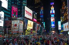 Times Square (Ghaith Farkouh) Tags: nyc time square night lights d5100 nikon usa america new york city