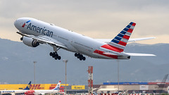 American Airlines Boeing B777-2 N773AN (SjPhotoworld) Tags: spain barcelona catalunya catalunia barcelonaairport bcn lebl airport n773an airliner aviation avgeek t7 b777 b777200 boeing boeingb777 airline aircraft airplane airliners airlines passenger passengerjet plane planespotting transport travel canon challenge departure takeoff big jumbo aa americanairlines