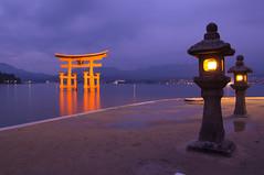 O-Torii (O.Ped) Tags: japan hiroshima miyajima itsukushimashrine torii 厳島神社 giappone unescoheritagesite