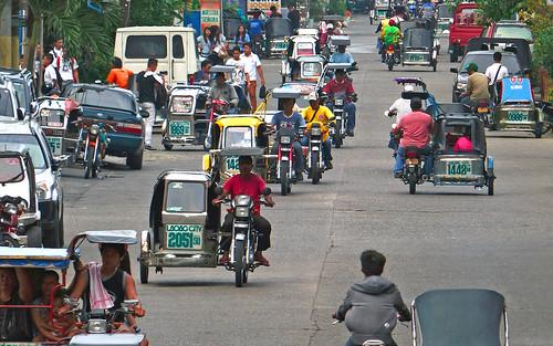 Traffic Laoag. Ilocos Norte. by Bernard Spragg, on Flickr