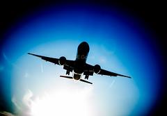 AC871 (cegoyer) Tags: canada photography montreal aviation air landing seven condensation aca boeing tripple b777 871 777300er b77w ac871 cdgyul