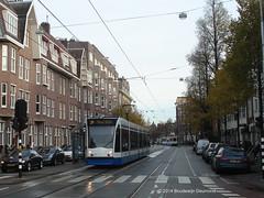Amsterdam GVB 2071 (Bou46) Tags: 2 amsterdam trolley siemens tram streetcar tramway strassenbahn gvb combino lijn2 amsterdamzuid 2071