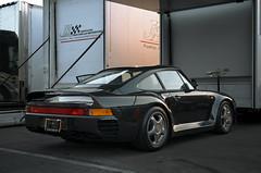 Porsche 959 (j.hietter) Tags: california morning grey whole porsche lagunaseca paddock 959 wholecar canepa porsche959