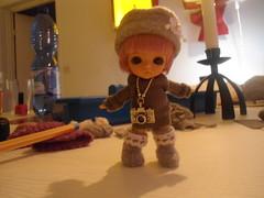 Sewing for Lati White (~Akara~) Tags: white doll tan mini pot belle limited edition abjd lw ver latidoll batb lati