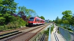 Beautiful rail line along at Plner See... (Lullabay 61) Tags: deutschland eisenbahn schleswigholstein pln
