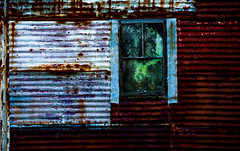 Ran out of white paint (Sten Dueland) Tags: abandoned neglected ruin disused decrepit tumbledown deserted deteriorated decaying ramshackle dereliction dilapidated rubble crumbling rundown fallingapart disrepair deteriorating rickety untended ruinous disintegrating creaky creaking fallingtopieces unmaintained rackandruin