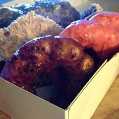 "We're starting the first day of the New Year with delicious potato donuts from @holydonutmaine in Portland, Maine.  If these donuts are any indication of how 2015 will turn out, we're all in for an amazing year!  Happy New Year!  I can't wait to see what • <a style=""font-size:0.8em;"" href=""http://www.flickr.com/photos/54958436@N05/15977204660/"" target=""_blank"">View on Flickr</a>"