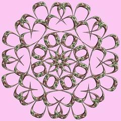 8 Tori /  (TANAKA Juuyoh ()) Tags: texture design 3d code cg pattern graphic structure symmetry figure program torus mapping algorithm mathematica   abstruct        parametricplot3d