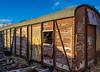 Decaying (BrianC53) Tags: rusty decaying railwaycarriage nikon1755mmf28 nikond5200 copyrightbriancurry tanfieldrailwaymuseum