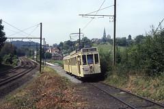 ASVI 10308 Thuin 16-08-2009 (Spoorhaar) Tags: belgië tram streetcar museumtram standaard strassenbahn lobbes henegouwen asvi thuin nmvb