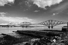 Forth Bridge landscape