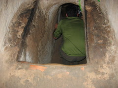 Into the Cu Chi Tunnels
