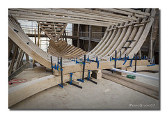 Erdialdeko zuakerrak. (PhotoStudio37) Tags: san juan museo construccin nao vasco koldo ribera siglo xvi pasaia artesano carpintera rplica ballenero factora galen albaola