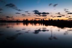 sunrise into the lake (rucci_photography) Tags: life light sky lake sunrise canon lago photography peace lucca reflect tuscany longexpo lakegherardesca