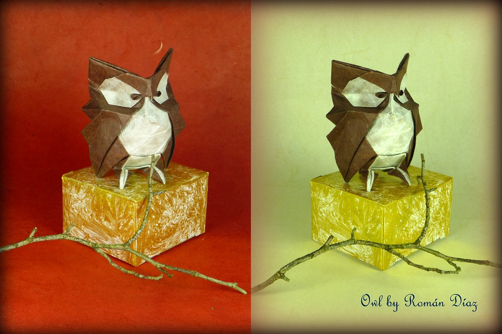 Akira Yoshizawa Origami Work