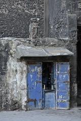 Mellah Shop Front (Victoria Lea B) Tags: door blue shop morocco medina essouira mellah