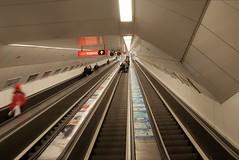 vanishing point (stefelix) Tags: underground hungary metro escalator budapest moskva ter stefelix szellkalman