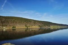 I <3 La Franche comt (Island_spirit) Tags: landscape soleil hiver lac des bleu ciel belle nuage paysage sapin verdure journe comt franche rousses
