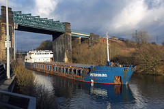 'Petersburg' Irlam 6th January 2015 (John Eyres) Tags: park liverpool manchester canal ship petersburg wharf northern clc eccles irwell irlam