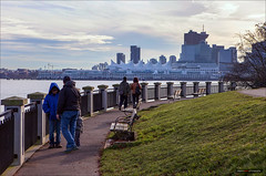 The View From Here (Clayton Perry Photoworks) Tags: winter people skyline vancouver seawall stanleypark explorebc explorecanada