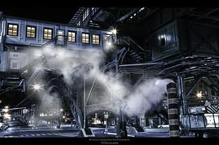 Gotham City - 125th Street Station Harlem, New York City - A Cinematic Impression