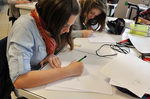 a-Atelier de dessin et de pyrogravure©l-Moriceau