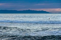 El Porto Sunset - 4 (rikiomgawa) Tags: ocean sunset sky beach clouds island evening nikon scenic manhattanbeach lightroom elportobeach d7000