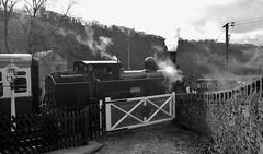 Closed to Traffic (paul_braybrook) Tags: westyorkshire steamlocomotive keighley oxenhope 1054 lnwr damems worthvalleyrailway coaltank
