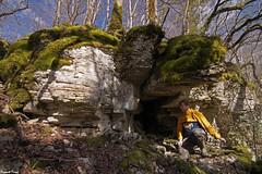 Petite Grotte dans le bois des grandes Pices - Refranche (inedite) (francky25) Tags: des le grandes franchecomt dans petite bois grotte doubs pices inedite refranche