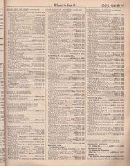 Classified telephone Directory for Birmingham & District, October 1934  - (mikeyashworth) Tags: birmingham blackcountry classifiedtelephonedirectoryforbirminghamdistrictoctober1934 southstaffordshirecollieries1934 cadburys coffinfurnituremakers staffordshire warwickshire hamsteadcolliery earldudleysbaggeridgecolliery mikeashworthcollection