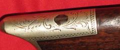Made By L. Jordan, Adams, Massachusetts (ilgunmkr - Thanks for 4,000,000+ Views) Tags: antique percussion massachusetts rifle 19thcentury engraving gunsmith muzzleloader targetshooting gunmaker targetrifle caplock adamsmassachusetts antiquefirearm germansilvermountings gunsmithgunmaker ljordanadamsmass