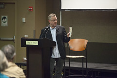 Writers Read Featuring Author Sam Weller at College of DuPage 2015