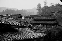 Guizhou, China (a.pierre4840) Tags: china architecture olympus roofs guizhou omd 25mm schneider kreuznach f19 em5 cmount xenoplan