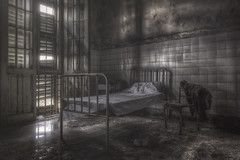 Faded Dream (Opiesse) Tags: abandoned hospital decay asylum hdr manicomio mental urbex