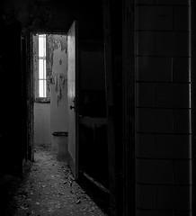 The last crap you'll ever take... (Anonymous_Trespasser) Tags: blackandwhite abandoned rotting monochrome hospital nikon decay toilet prison forgotten urbanexploration peelingpaint filth asylum psychiatric crumbling psychiatrichospital institution urbex statehospital institutionalized 20mmf28daf partiallyactive