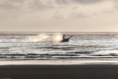 Cruising (janwellmann) Tags: sunset beach costarica waves boating speeding costa1