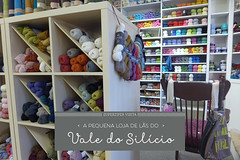 Uncommon Threads: Superziper visitou! (super_ziper) Tags: california wool shop cores store craft loja dica visita losaltos tricô lã materiais uncommonthreads lojinha novelos superziper