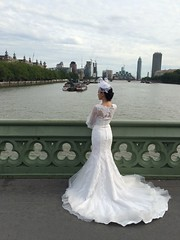 IMG_2357 (bestmilan) Tags: bestmilan photo london uk july 2016 filming riverthames westminster bride weddingdress chinese westminsterbridge